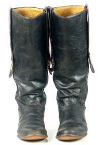 Tony Lama 17 Tall Stovepipie Cowboy Boots Mules Ear Silver Stars Men