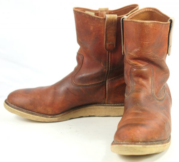 Vintage Red Wing Irish Setter Pull On Leather Work Sport Boots 1990s Men