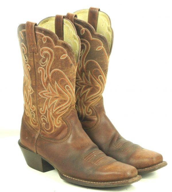 Ariat Russet Rebel Legend Punchy Toe Cowboy Western Boots 15845 $190 Women