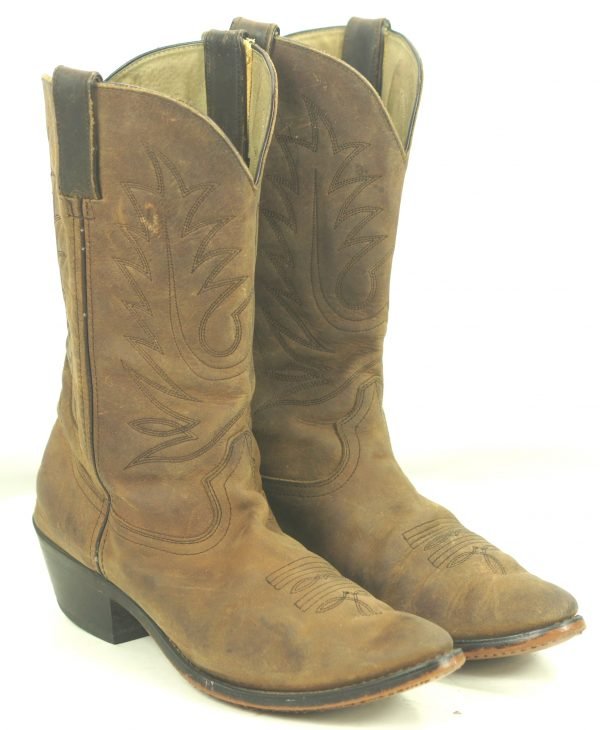 Durango Distressed Brown Leather Cowboy Western Boho Boots RD4112 Women