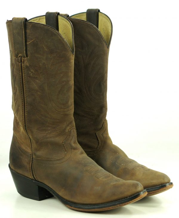 Durango Distressed Brown Leather Cowboy Western Boots $150 RD4112 Women