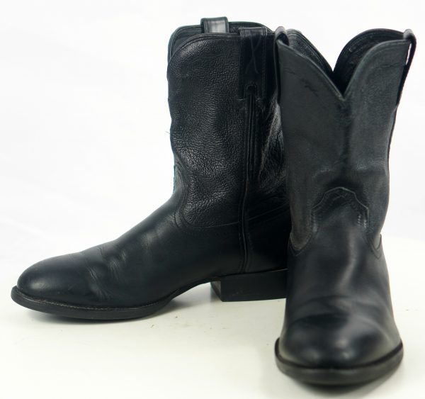 Twisted X MRP002 Black Leather Cowboy Western Roper Work Boots Men